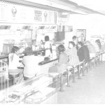 Busy soda fountain